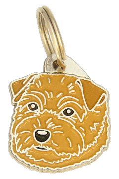 NORFOLK TERRIER - pet ID tag, dog ID tags, pet tags, personalized pet tags MjavHov - engraved pet tags online